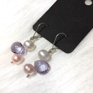 Handmade Dangle Bauble Earrings